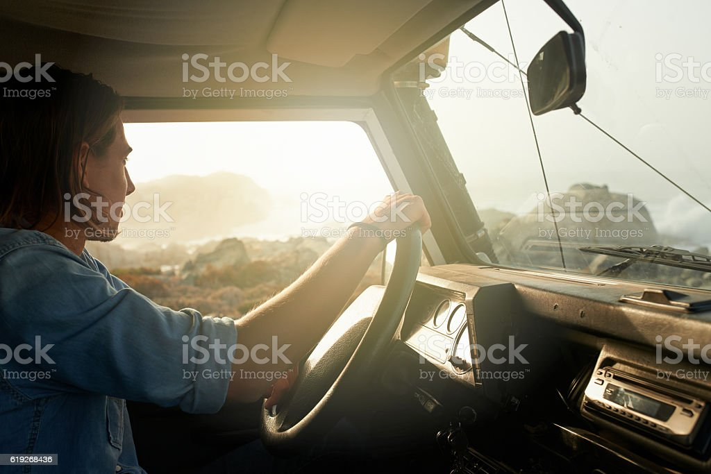 Embracing the journey royalty-free stock photo