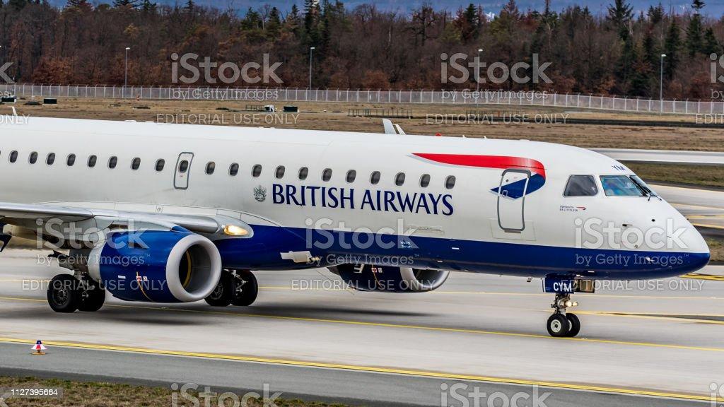 Embraer ERJ-190LR British Airways am Flughafen Frankfurt Am Main – Foto