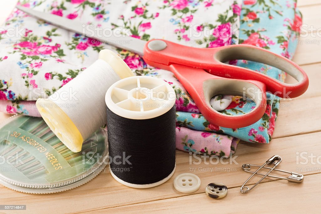 embroider stock photo