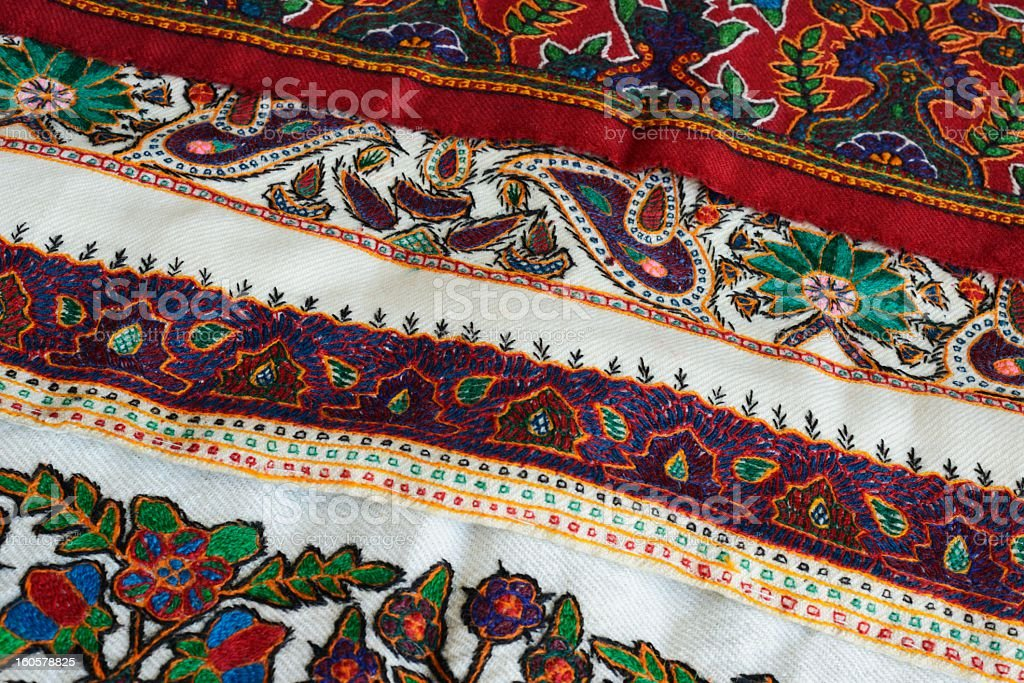 Embroidered Souvenirs royalty-free stock photo