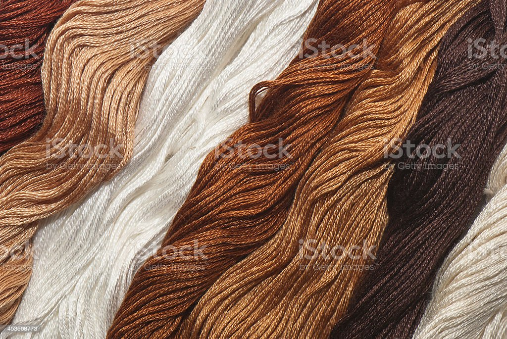 Embroidery floss royalty-free stock photo