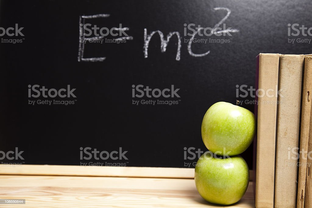 Emc2, education Concept stock photo