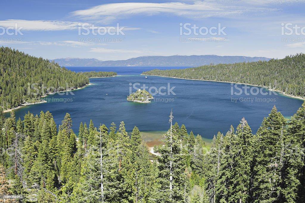 Emerald Bay - Lake Tahoe royalty-free stock photo