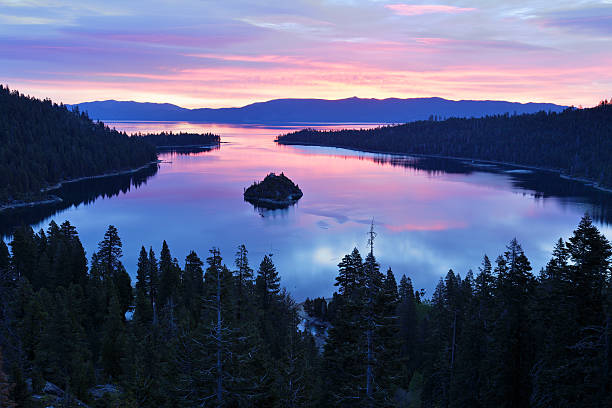 Emerald Bay - Lake Tahoe stock photo