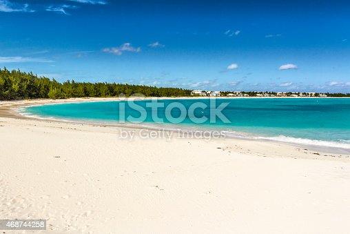 istock Emerald Bay landscape - Bahamas 468744258