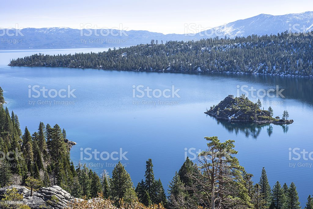 Emerald Bay stock photo