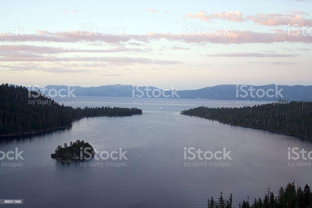 Emerald Bay royalty free stockfoto