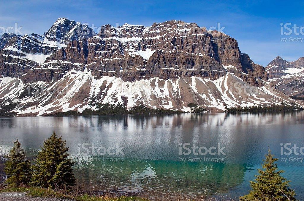 emerald lake. Banff Alberta,Canada royalty-free stock photo