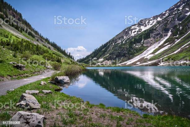 Emerald Lake Crested Butte Colorado Stock Photo - Download Image Now