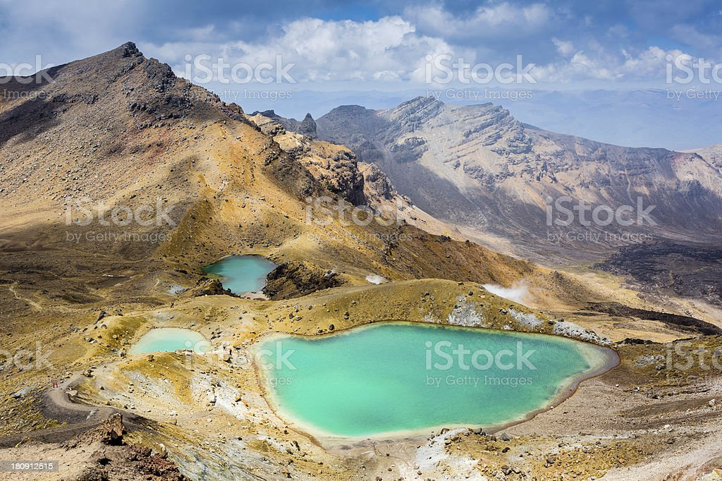 Emerald Lakes, Tongariro National Park, Neuseeland – Foto
