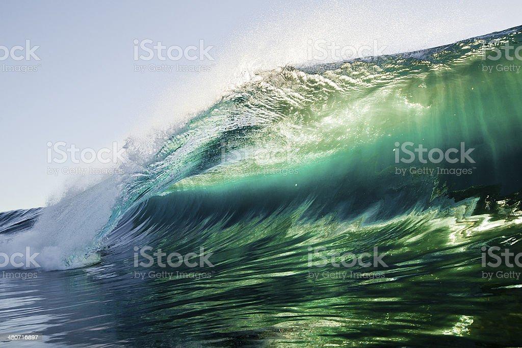 Emerald Light stock photo