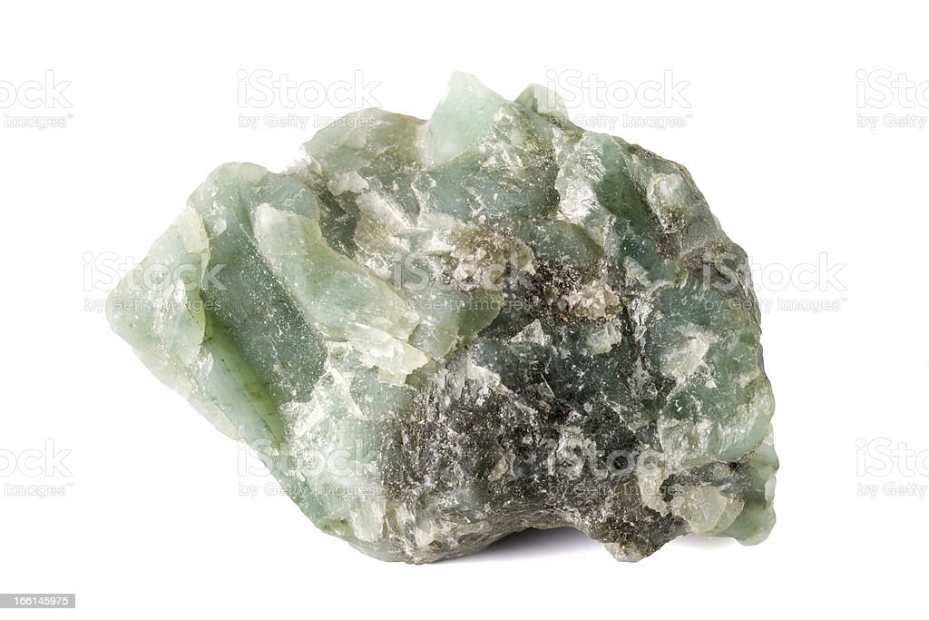 Emerald Mineral royalty-free stock photo
