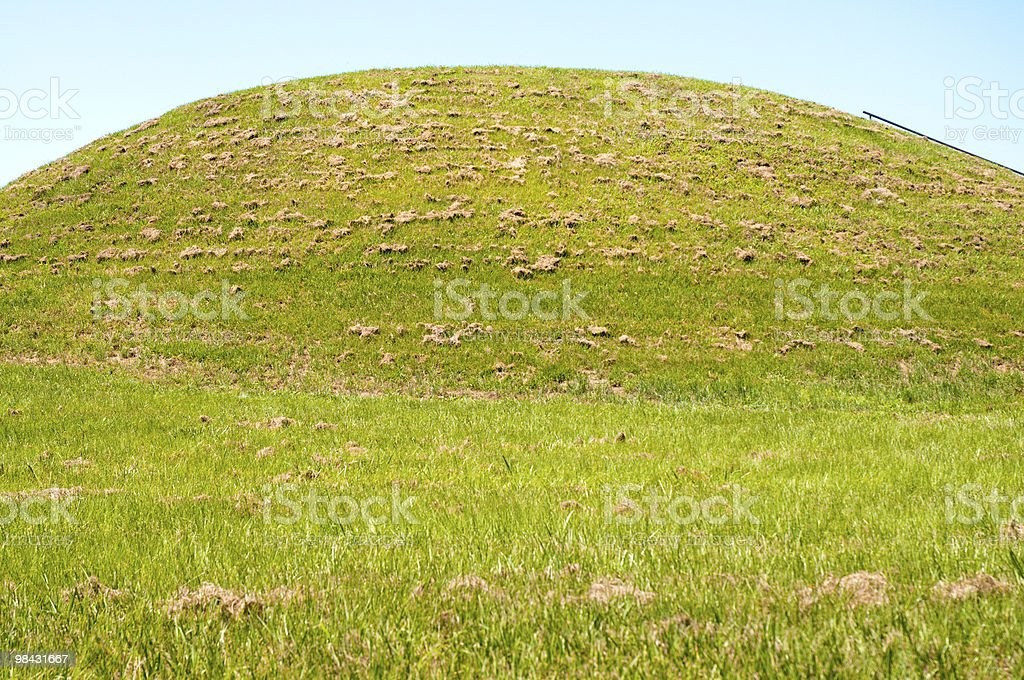 Emerald Mound royalty-free stock photo