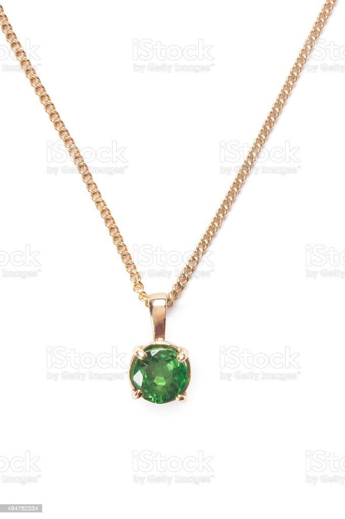 Emerald Necklace stock photo