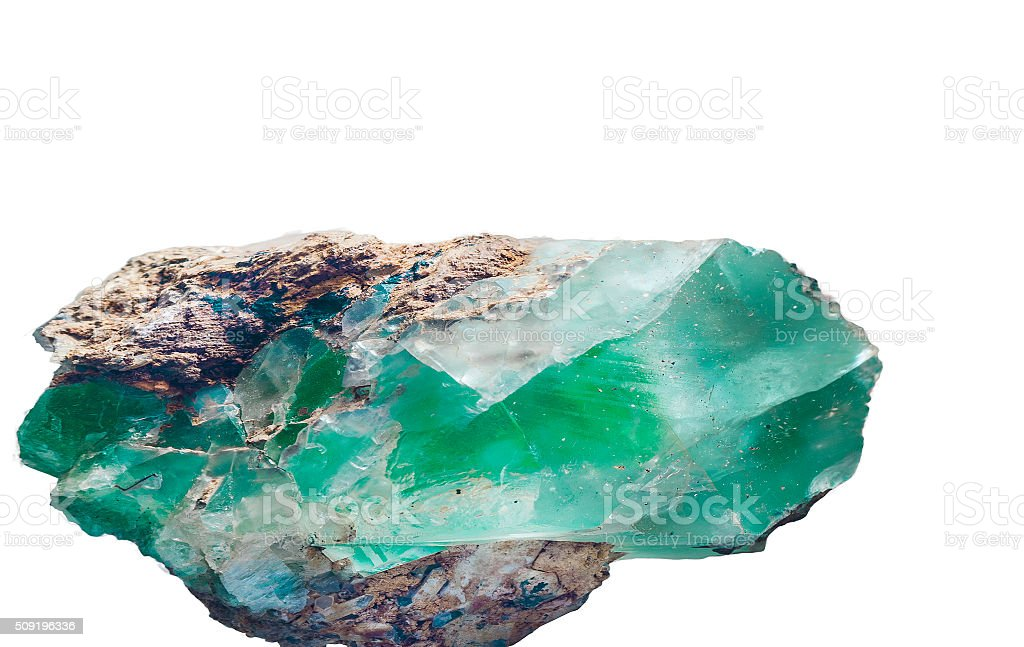 Emerald stock photo