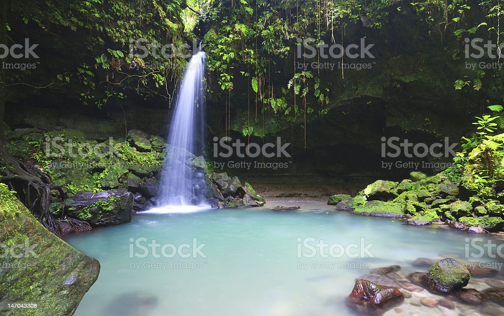 Emerald pool royalty-free stock photo