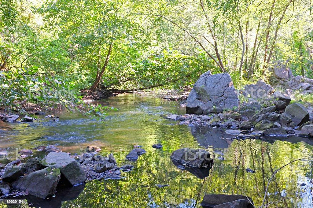 Emerald River stock photo