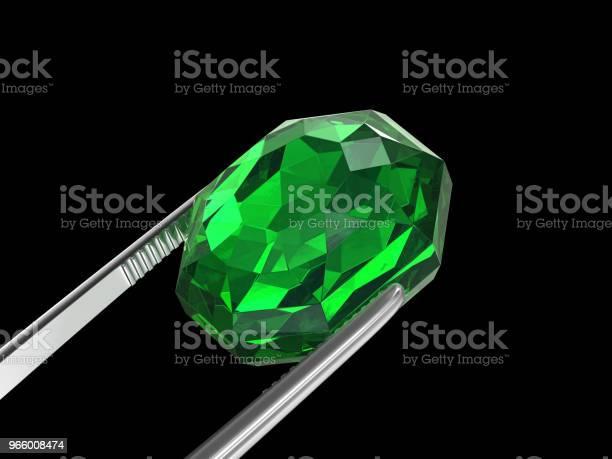 Smaragdgrüne Seen Hautnah Mit Einer Pinzette 3d Illustration Stockfoto und mehr Bilder von Computergrafiken
