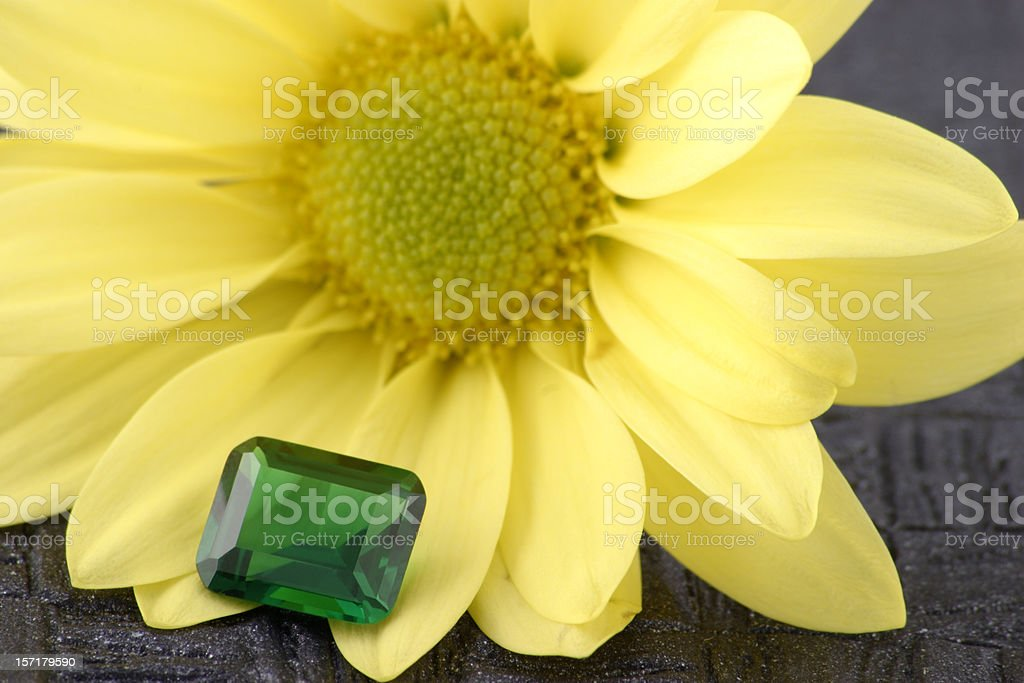 Emerald Stone royalty-free stock photo