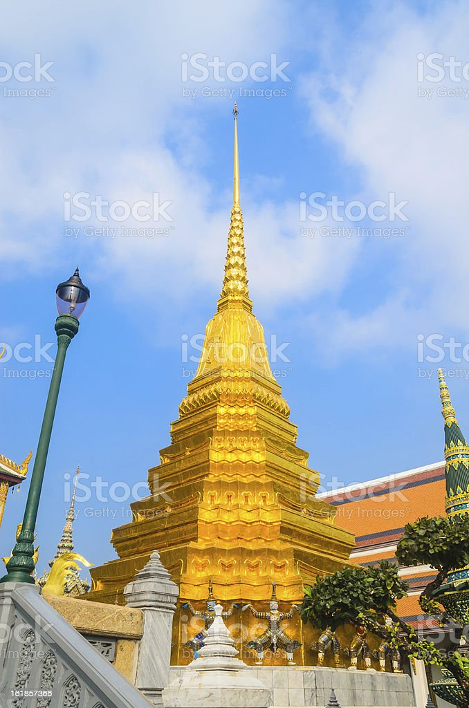 Emerald Temple royalty-free stock photo