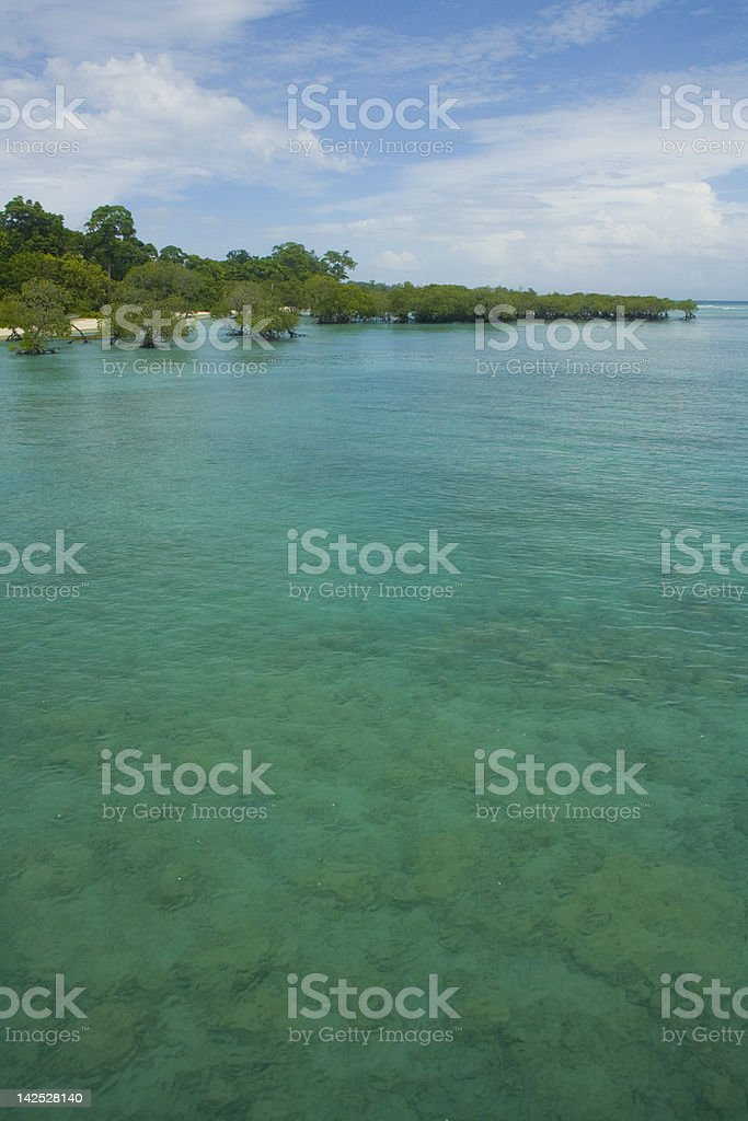 Emerald Waters stock photo