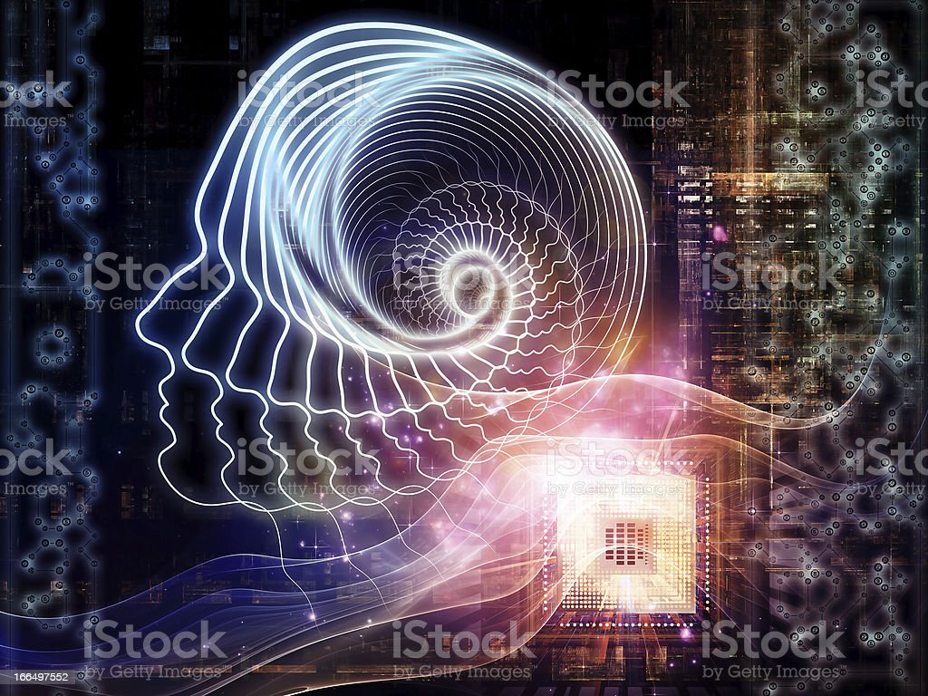 Emergence of Artificial Intelligence royalty-free stock photo
