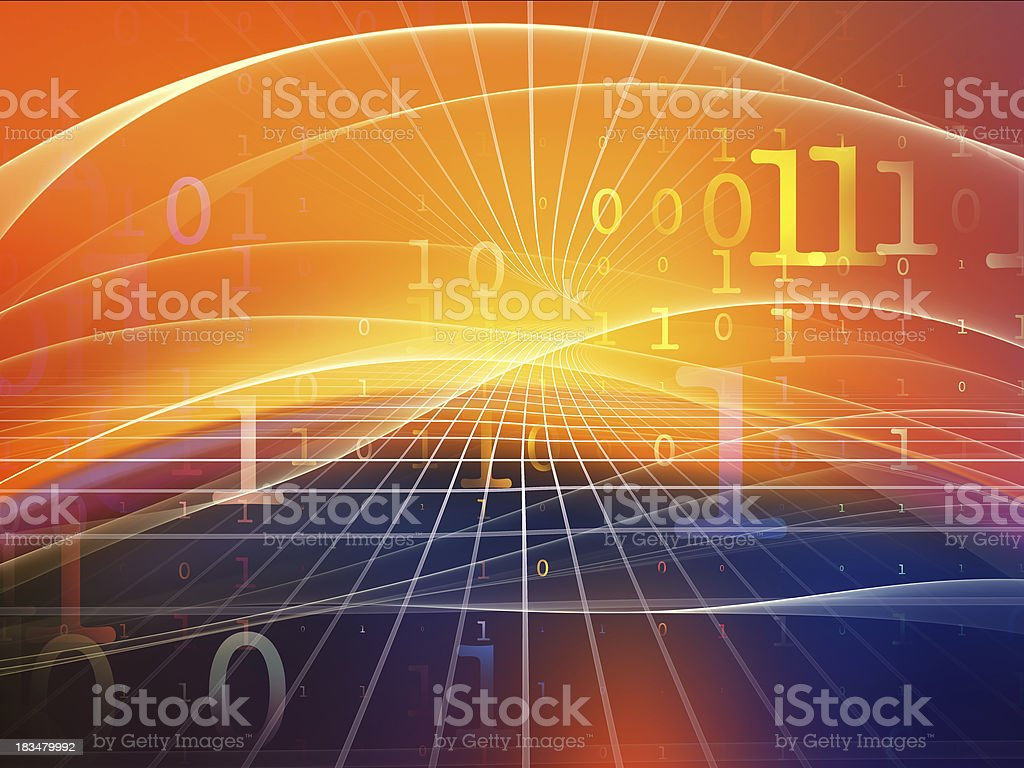 Emergence of Fractal Realms royalty-free stock photo