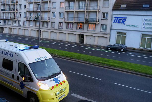 Voiture d'Ambulance d'urgence - Photo