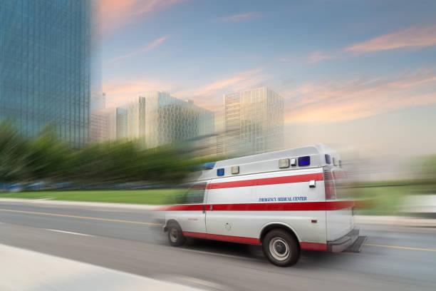 Rettungswagen zu beschleunigen – Foto