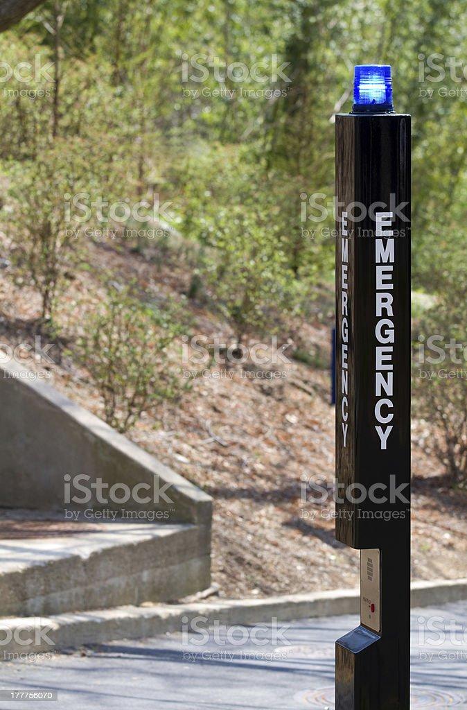 Emergency Beacon stock photo
