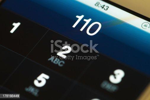 emergency call 110