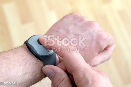 istock Emergency call system - Push the button for professional help 156334641