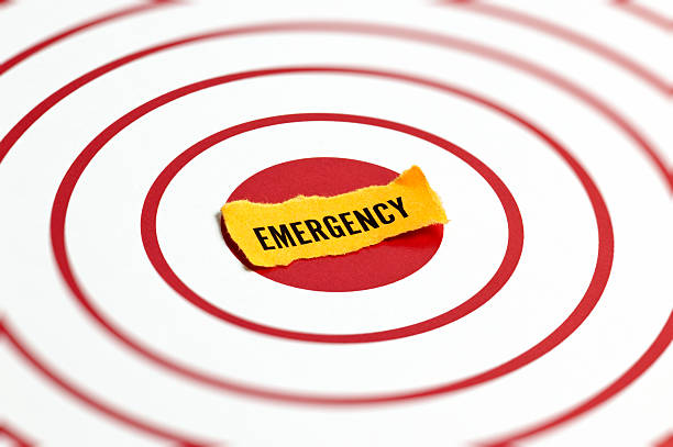 Emergency Concept Emergency Concept emergency sign stock pictures, royalty-free photos & images