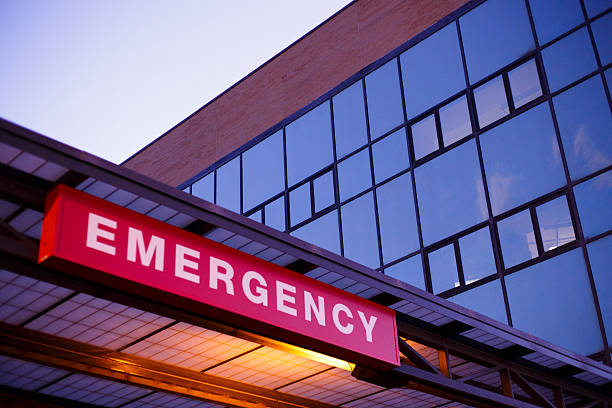 emergency department - entrance stock photos and pictures