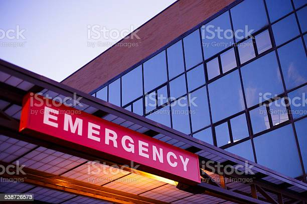Emergency Department Stock Photo - Download Image Now