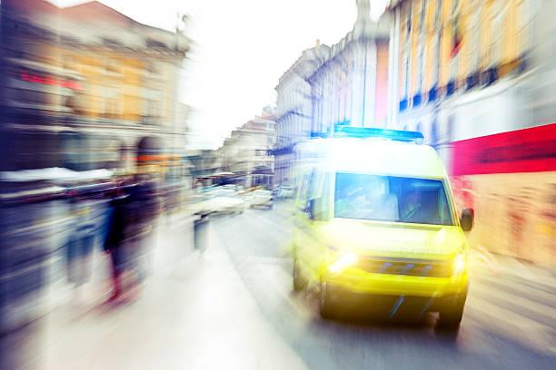 Urgence dans le centre-ville - Photo