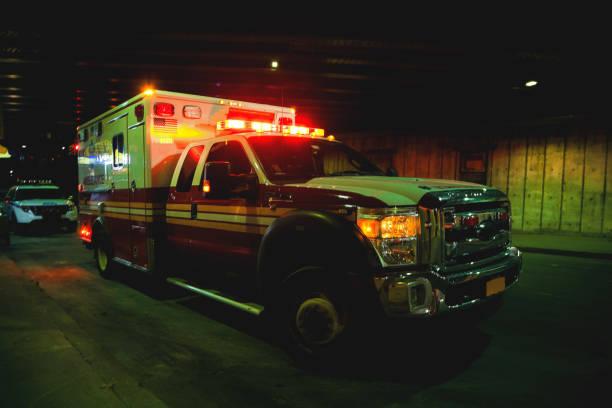Emergency in New York stock photo