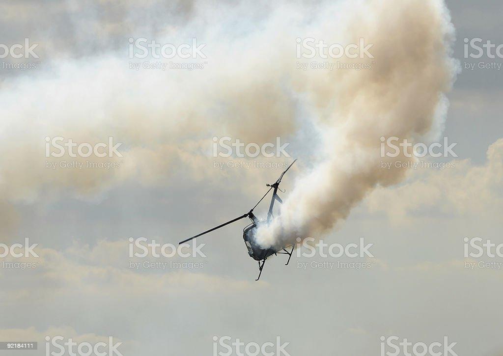 Aterrissagem de emergência - foto de acervo
