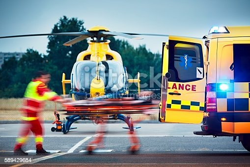 istock Emergency medical service 589429684
