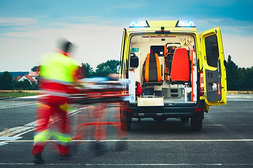 Emergency Medical Service Stock Photo - Download Image Now