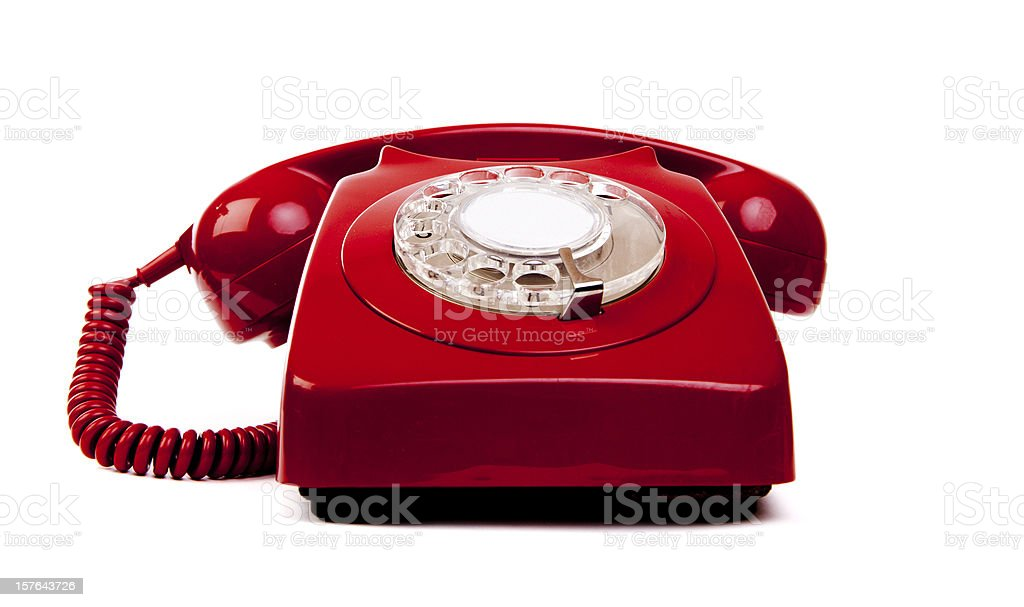 Emergency phone stock photo