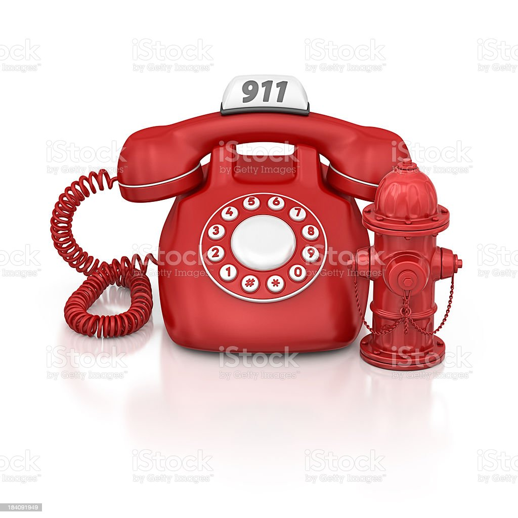 emergency phone royalty-free stock photo