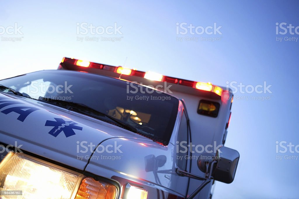 Emergency - Royalty-free Ambulance Stock Photo