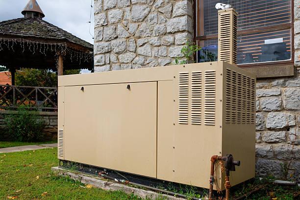 alimentación de emergencia - generadores fotografías e imágenes de stock