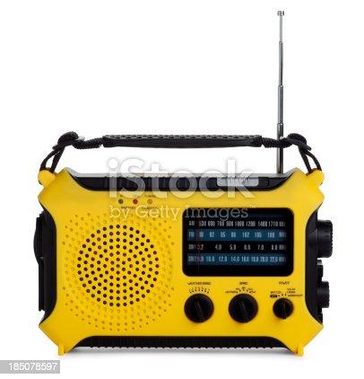 174913696 istock photo Emergency Radio Isolated on White 185078597