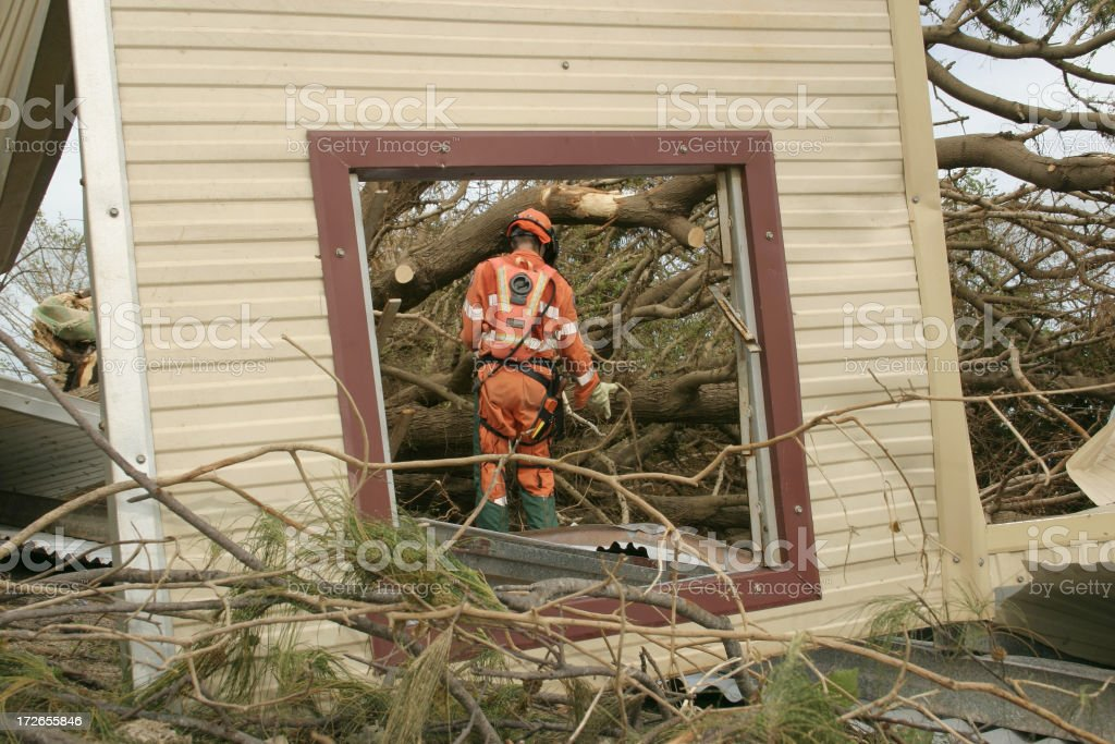 emergency repair stock photo