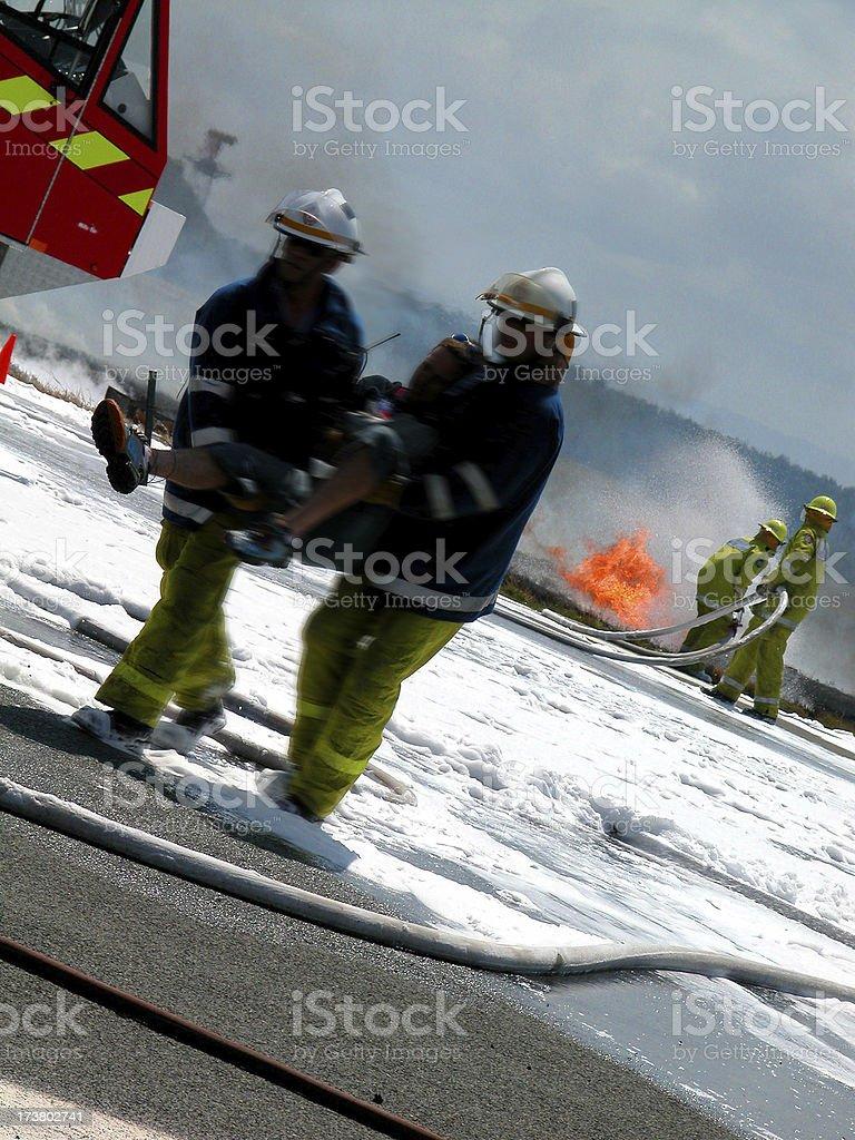 emergency rescue stock photo