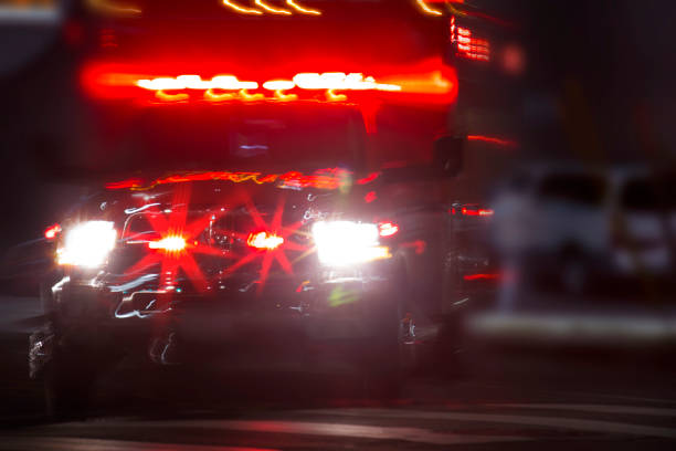 emergency responder - ambulance stock photos and pictures