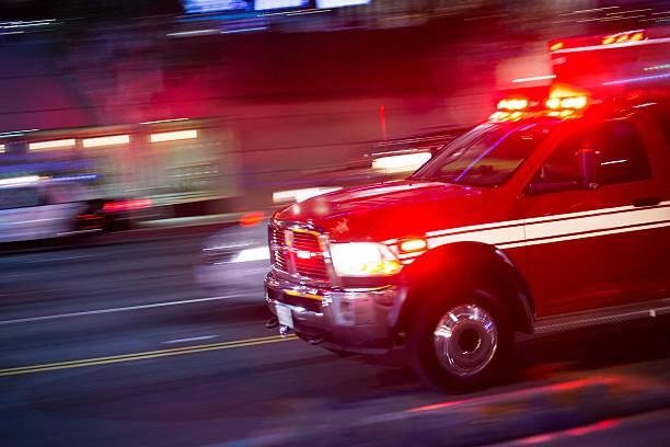 Emergency Responder stock photo
