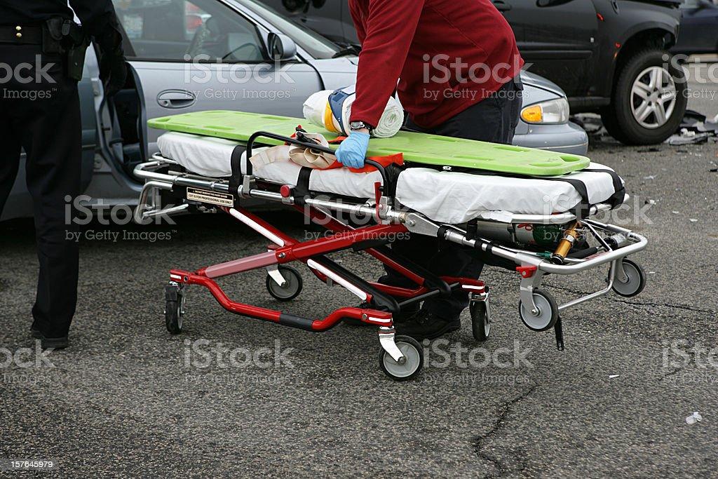 Emergency Response royalty-free stock photo